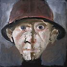 Man with hat. by ipalbus-art