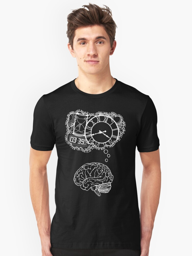 Where My Mind Goes (Dan Smith) Unisex T-Shirt Front