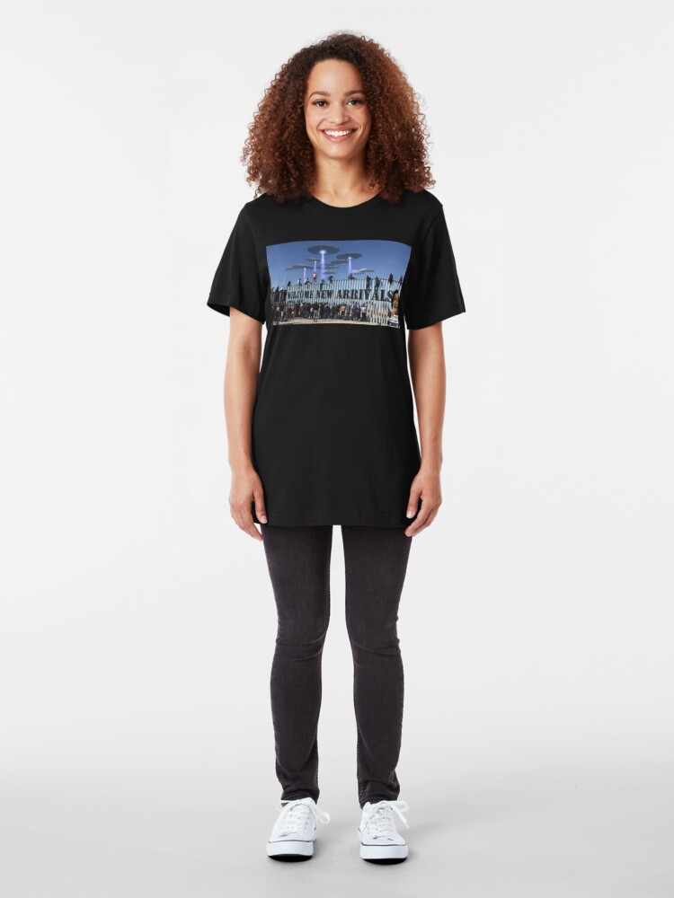 Alternate view of The New Arrivals Slim Fit T-Shirt