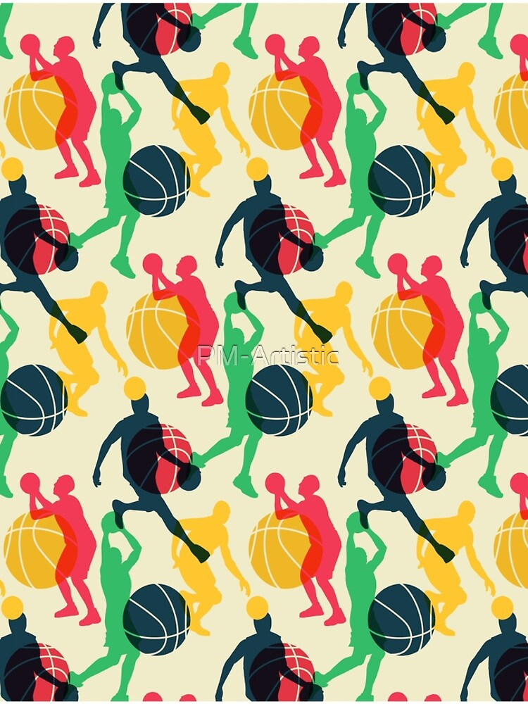 Basketball Sport Ball Team Pattern by PM-Artistic