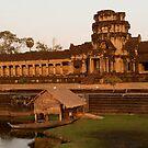 Angkor Wat at Sunset by fab2can