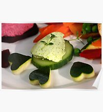 Green Peas Mousse 4 Fingerfood Poster
