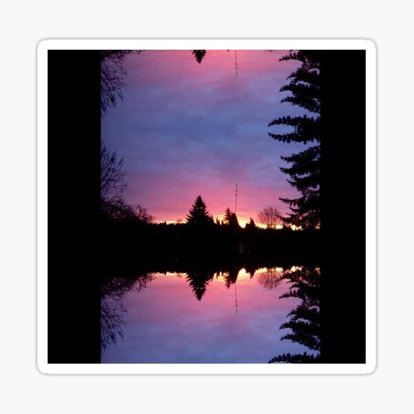 God is good - dawn Sticker