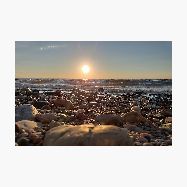 Majestic Beach Sunset Photographic Print