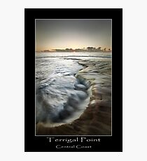 Terrigal point Fotodruck