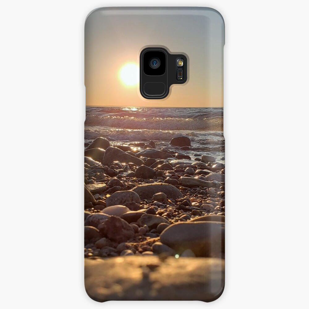 Majestic Beach Sunset Samsung Galaxy Phone Case