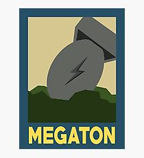 Retro Megaton Photographic Print