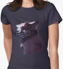Futuristic. Women's Fitted T-Shirt
