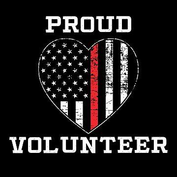 Proud Volunteer Firefighter by teesaurus