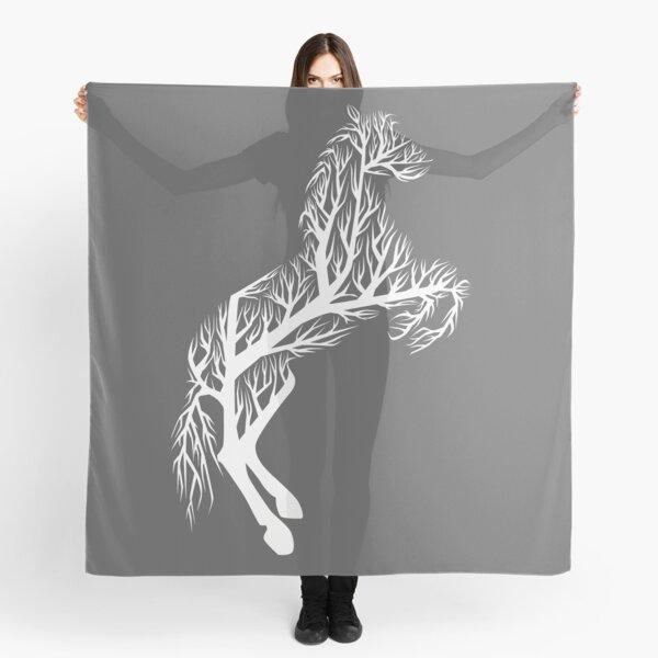 White Tree Horse Scarf