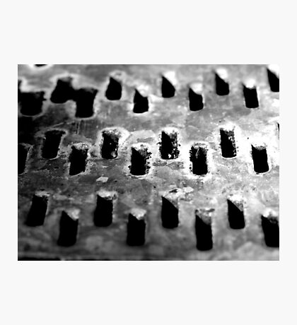 Grated Photographic Print