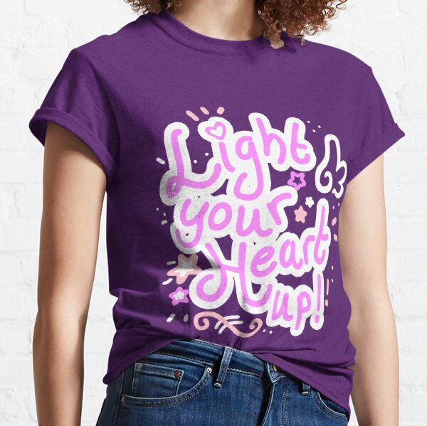 Light your heart up Classic T-Shirt