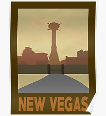 Retro New Vegas Poster