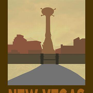 Retro New Vegas by EricRockwell