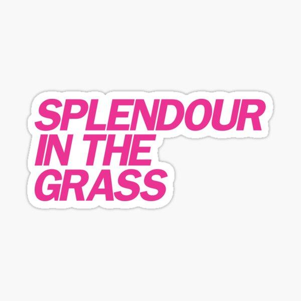 Splendour in the grass Sticker