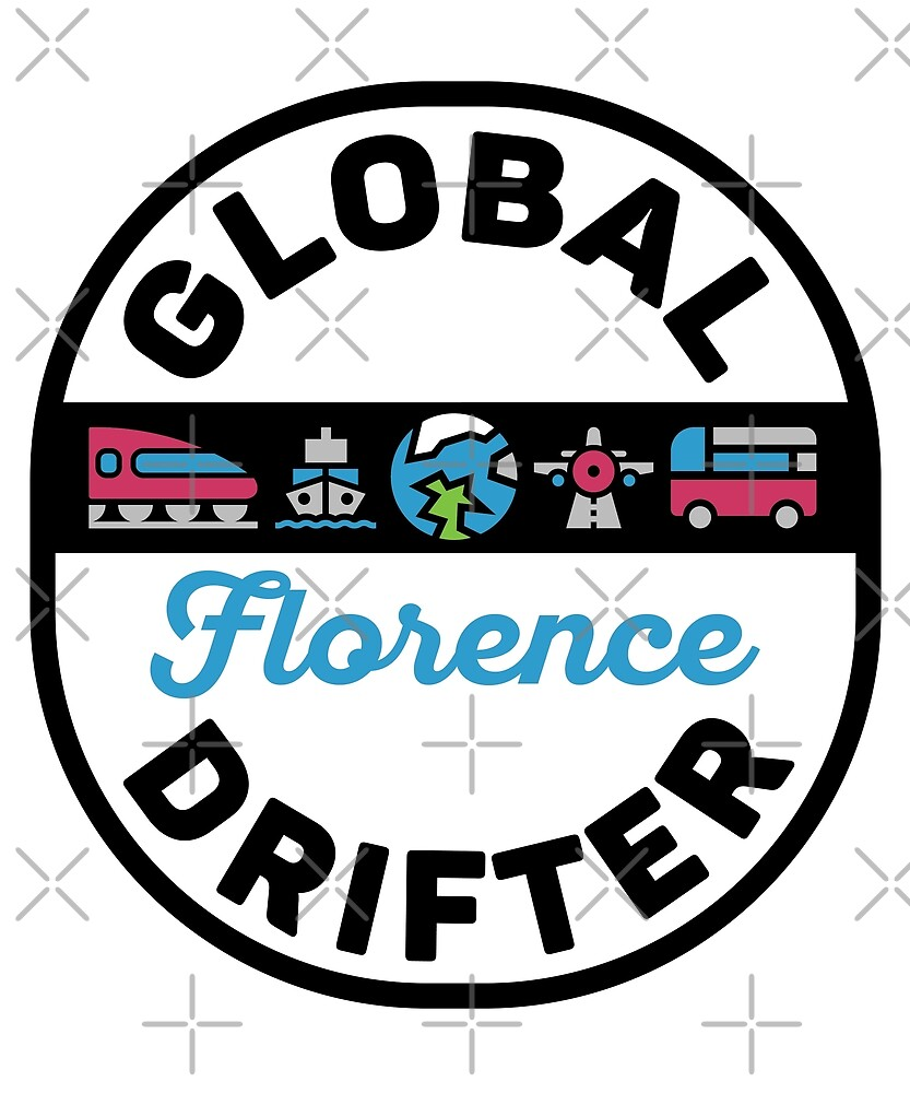 Florence Italy Global Drifter by designkitsch