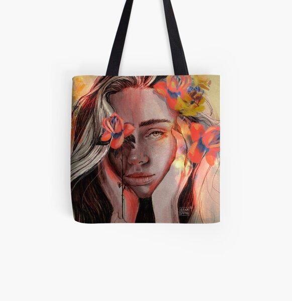 ROSE All Over Print Tote Bag