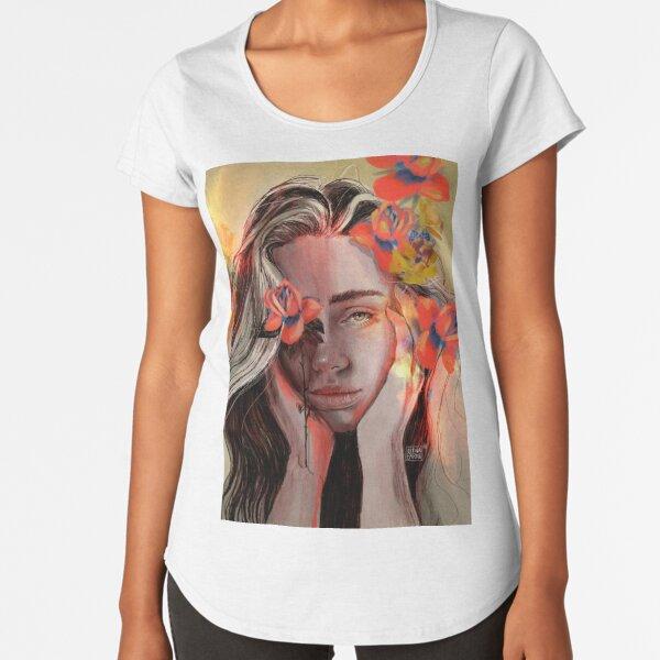 ROSE Premium Scoop T-Shirt