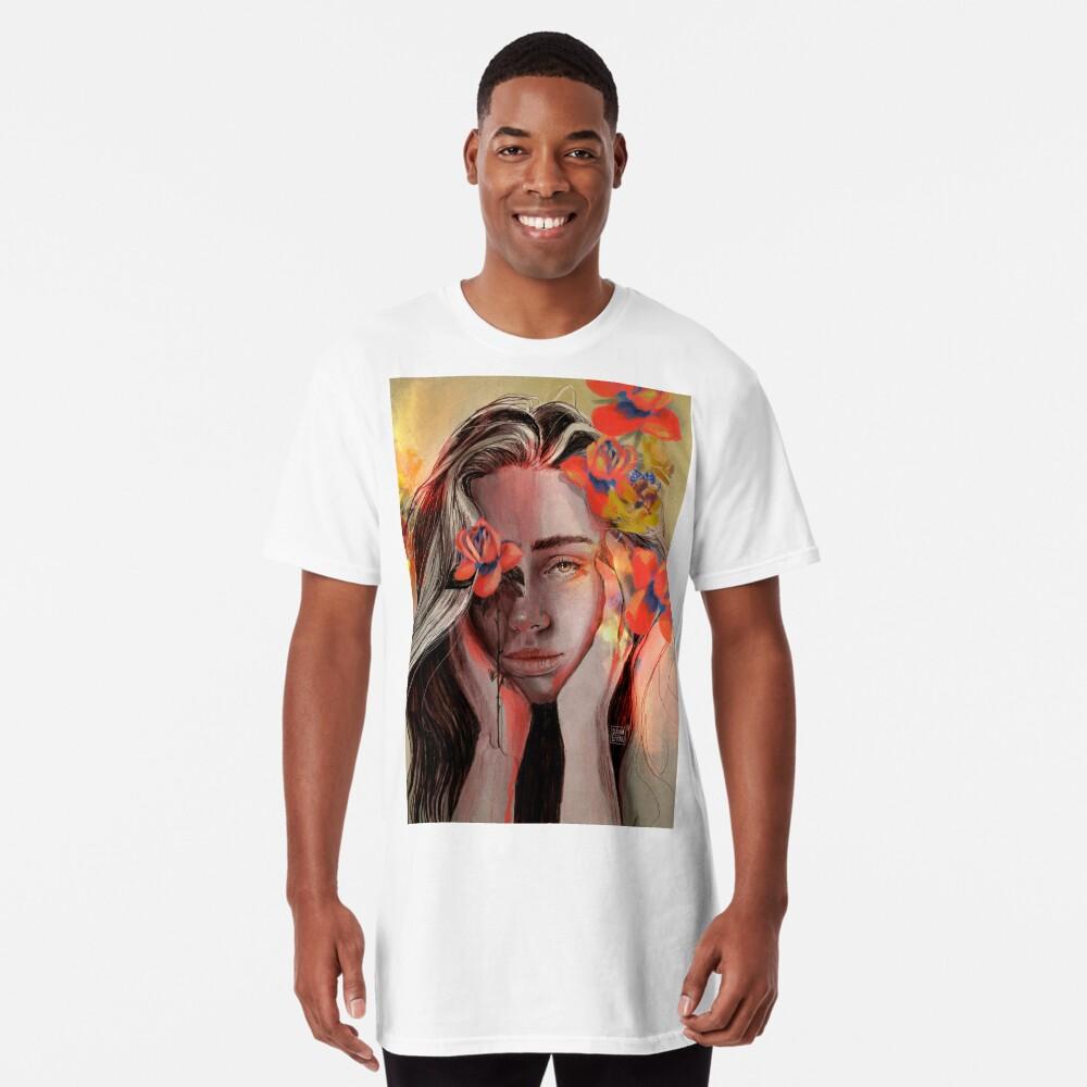 ROSE Camiseta larga