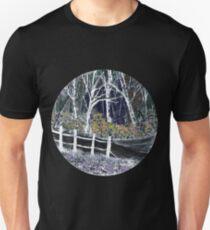 'Snow whites Wood - Midnight' Unisex T-Shirt