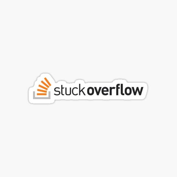 StuckOverflow // Logo précis Sticker