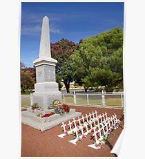 Carisbrook Cenotaph  Poster