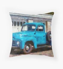 Truck - An International old truck Throw Pillow