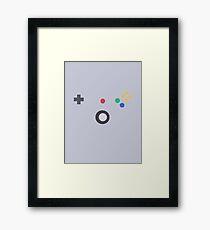 Retro Controller Framed Print