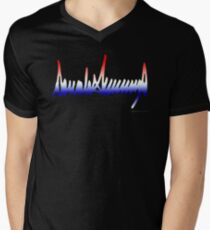 Donald Trump Signature Men's V-Neck T-Shirt