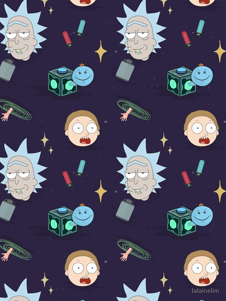 Rick and Morty's Adventure in Space (Patterns Please) by lalainelim
