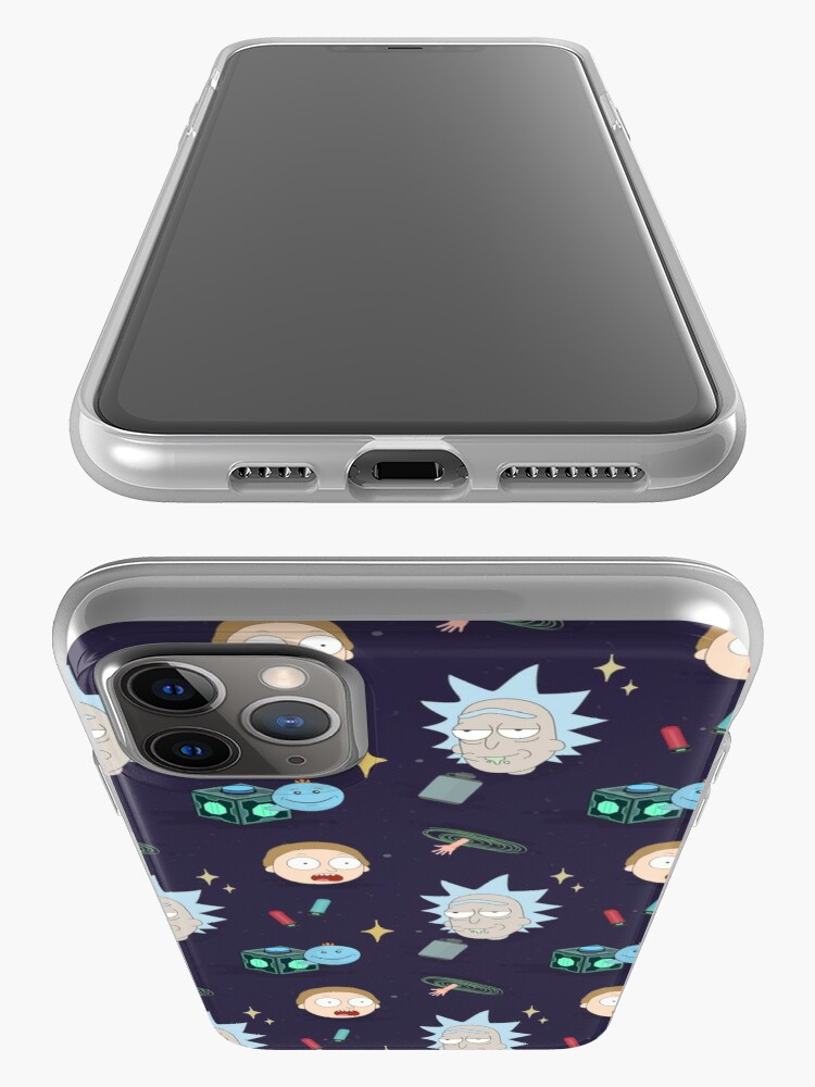Alternate view of Rick and Morty's Adventure in Space (Patterns Please) iPhone Case & Cover
