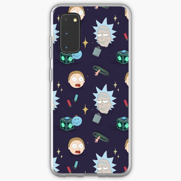 Rick and Morty's Adventure in Space (Patterns Please) Samsung Galaxy Soft Case