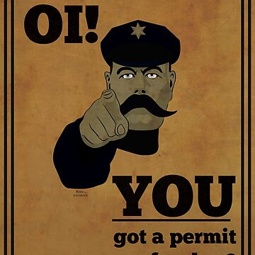 You Got A Permit For That? by Roley by RoleyShop