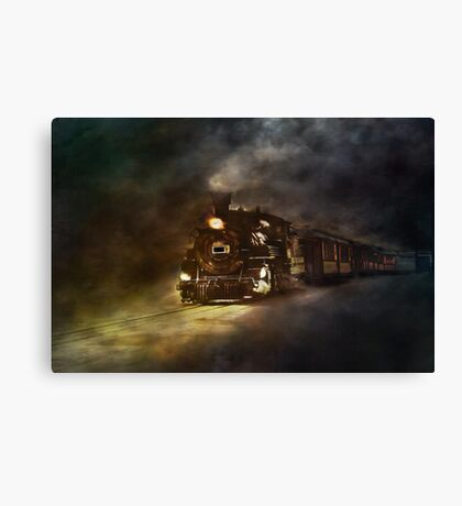 Ghosts of the past. The magic of technology!!! Canvas Print