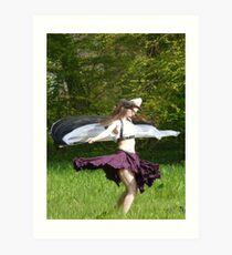 Elf Fantasy Fair (3) Art Print