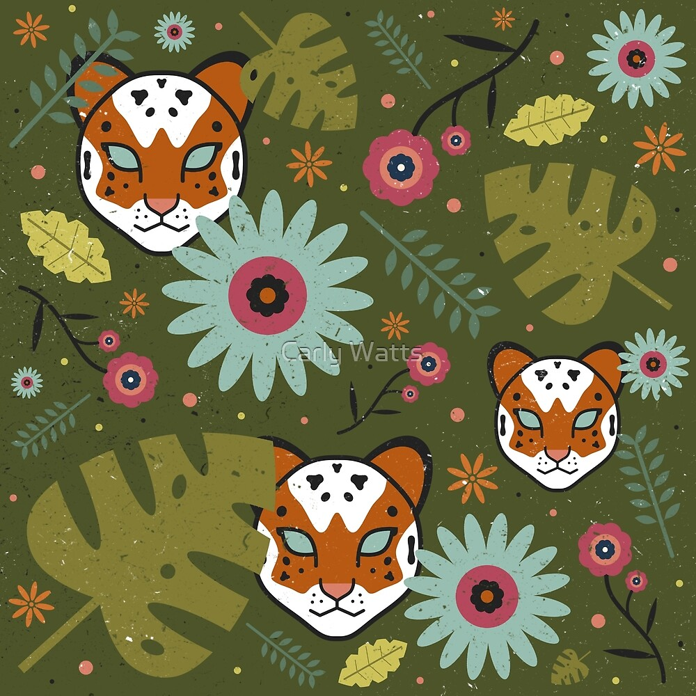 Tigers in the Jungle by Carly Watts