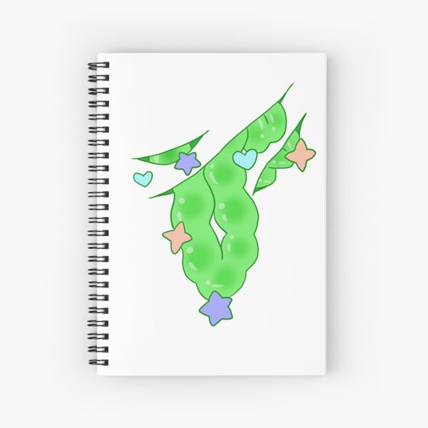 Gore Guts Green Spiral Notebook