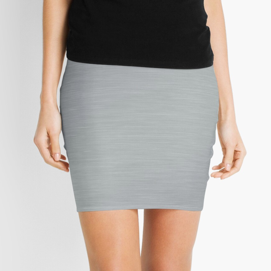 Decorative products with polished metal. Mini Skirt