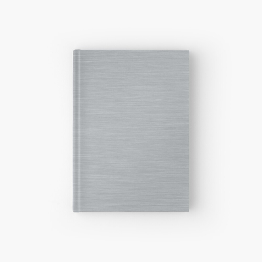 Decorative products with polished metal. Hardcover Journal