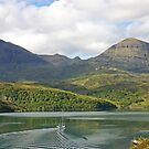Quinag across An Caolas Cumhang by ScotLandscapes