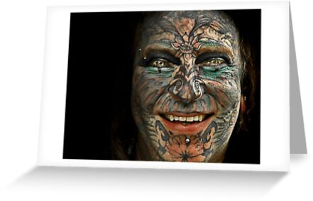 tattoo man by carol brandt
