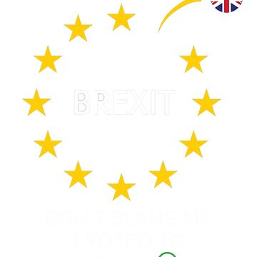 Brexit t shirt by uk-pepy