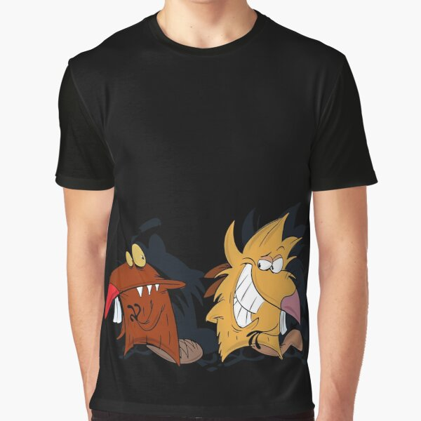 The Angry Beaver Graphic T-Shirt