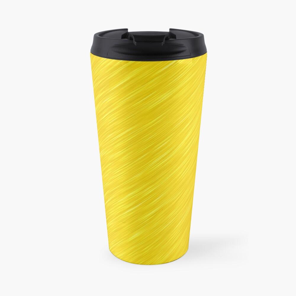 Decorative products with polished gold. Travel Mug