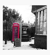 Ye Olde Village Shoppe Photographic Print