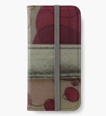 MIDDEL SILVER BAND iPhone Wallet/Case/Skin