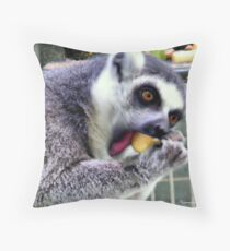 Happy Diner Throw Pillow