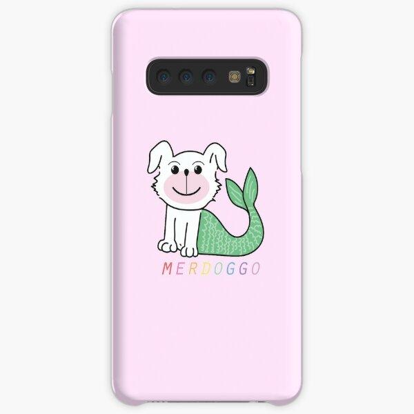 Merdoggo Logo on Pink! Samsung Galaxy Snap Case