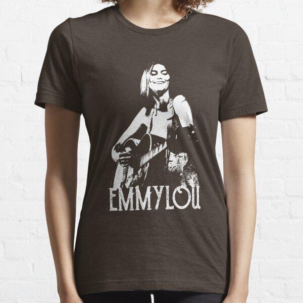 Emmylou - Plantilla blanca Camiseta esencial