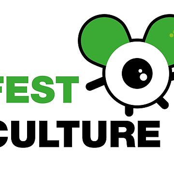 FestCulture Logo Original Green - Light by FestCulture